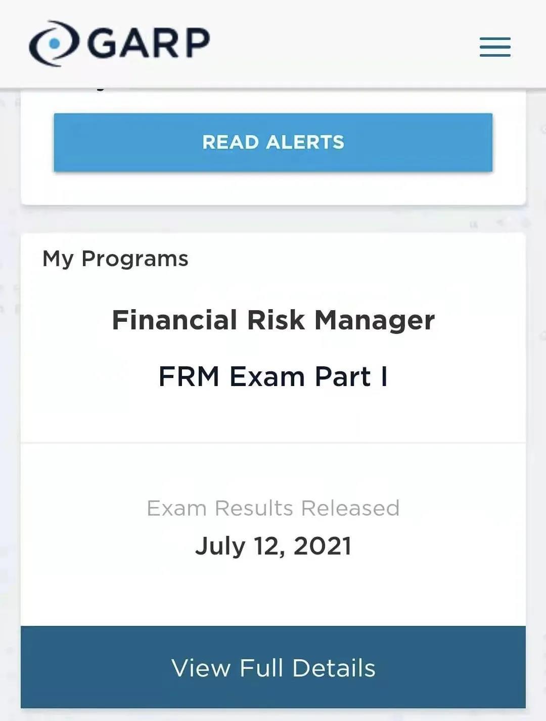 FRM一級